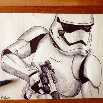 Stormtrooper by eviekeuh