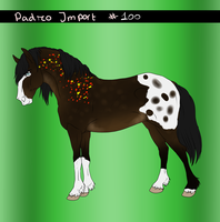 Padro Import #100 - Common  Free to Claim by Horse-Emotion