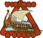 .:Viking boy:. commission car sticker by SaMtRoNiKa