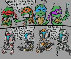 TMNT and Republic Commando by Ayej