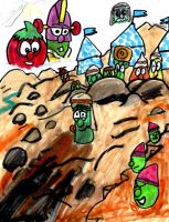 VeggieTales: Dave and the Giant Pickle by SonicClone