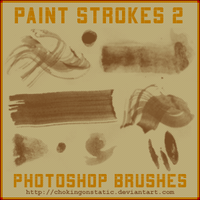 paint stroke brushes 2 by chokingonstatic