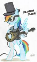 Rainbow Slash by buckweiser