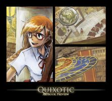 Quixotic Artbook Preview by sherrae78