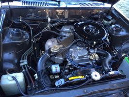 Dodge Challenger engine by syc1959