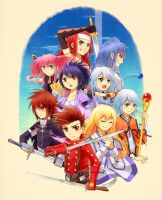 Tales of Symphonia by anokazue