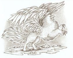 Gryphon by Agaave