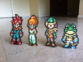 Chrono Trigger Bead Sprites by Night-TAG