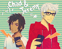RS: chad and Jeremy by animegirl000