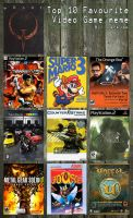 Top 10 Video Game by azeta