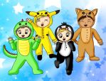 5sos Onsie Squad by Animecolourful
