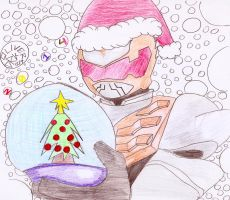 The Robo Knight Before Christmas by DarkOliver