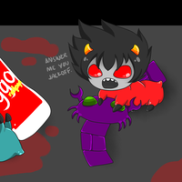 THIS IS KARKAT, OVER. by davekatkind
