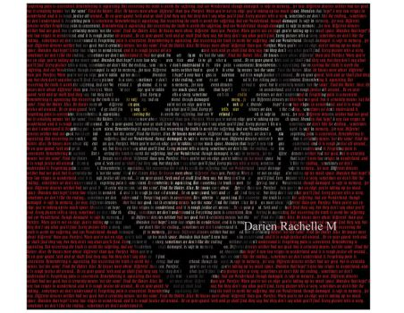 Cheshire Cat Quote Madness by DarienRachelle27