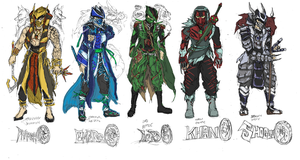 Mortal Konquest concepts by bulletproofturtleman