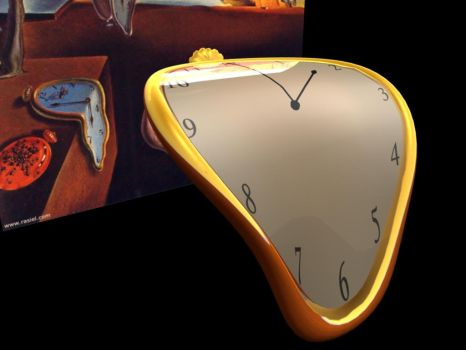 Melting clock by makin3