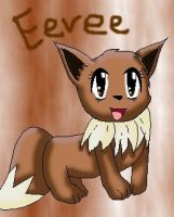 Eevee by 222222555555