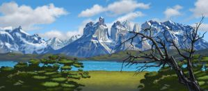 Torres del Paine by donjapy2011