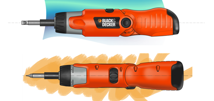 Black and Decker Electric Screwdirver 9073 by IvanHubo