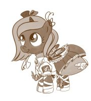Steampunk Woona by bunnimation