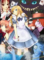 Wonderland, Anime World by x3-Paia