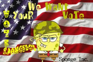 SpongeBob Vote by P-Frost