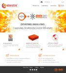Homepage re-design for Elastix website by kikitoso