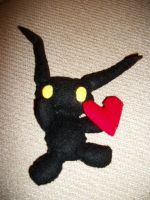 Heartless Plushie by DarthRegina125