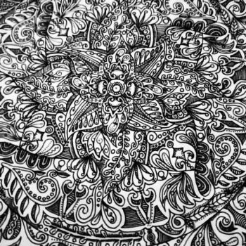 Detailed Floral by ElleDindayal