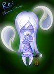 chibis of terror caracter:Rei (paranormal act) by BloodyPink-M