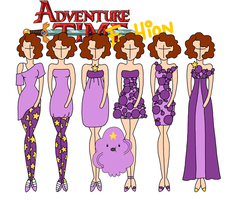 Adventure time fashion: Lumpy Space Princess by Willemijn1991