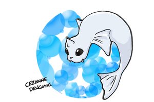 Number 087 - DEWGONG by Skyblufox