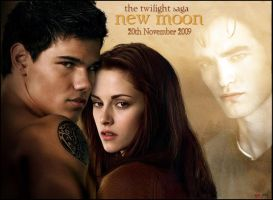 Twilight saga, New Moon by daydream--believer