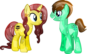 Crystal Ohio brony and zonjon by Vector-Brony