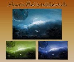 Home to SETI by teddybearcholla