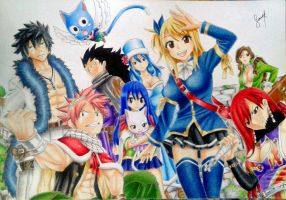 Fairy Tail by SarahUsagi-chan