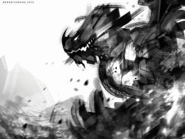 Speedpaint Dragon by benedickbana