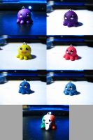 Octopi charms by Ramrum