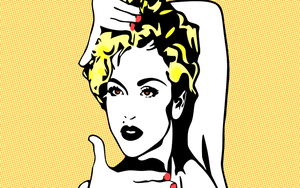 Madonna Pop Art by Jeramiah327