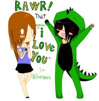 RAWR, It means I love you by ScarletteLetas