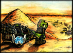 Mad Yoshi: Fury Road - Colors by MaRaMa-TSG