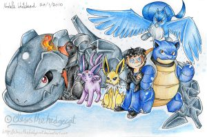 Leo's pokemon team by mmishee