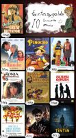 10 Favourite Movies (... For now) by FantasyGold