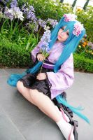 Vocaloid Dreaming Little Bird - Hatsune Miku by Xeno-Photography