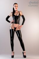 ScaryMissMary  (Latex-Chains-Corsett) by AmatorisLatexCouture