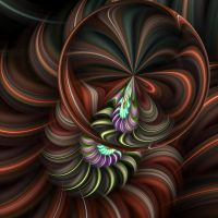 Spiral Flower by LadyLyonnesse