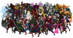 Marvel Super Heroes by vindications