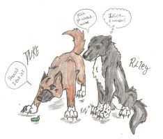 Duke and Riley by MacabreMajesty