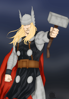 Thor by blackmoonrose13