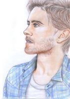 Jared Leto Colour Speed Draw by sharmz